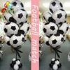 10 قطعة 18 بوصة كرة القدم بالونات الكبار لكرة القدم كبيرة زخرفة الحفلات الاحتفال الاطفال عيد ميلاد اللعب لوازم الحفلات مباراة كرة القدم