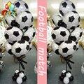 10 шт 18 inch шары в виде футбольных мячей футбольные бутсы для взрослых, большой вечерние украшения студийный фон на день рождения игрушки, при...