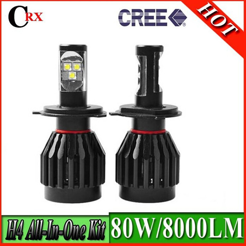 ФОТО 2Pcs Canbus Design 55W 9/30V 5500-6000K Cree Chips LED Super White Auto LED Light Car Low Beam Headlight H7 Auxiliary Fog lamp