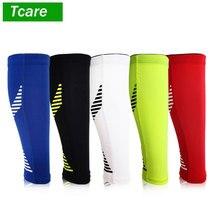 Tcare 1 ppiezas mangas de compresión de pantorrilla para hombres y mujeres-mangas de compresión de piernas y espinillas para corredores, tablilla para ciclista