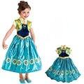 Elsa Traje Trajes Do Natal Menina Infantil Do Bebê Da Neve Quee Anna Vestido de Festa Meninas Vestidos de Cinderela Para Crianças Princesa Rapunzel