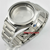 Caixa do relógio de aço inoxidável 316L 41mm strap fit Miyota 8215 Serie  DG2813/3804 movimento automático p612