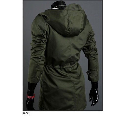 e2863b19aa5d Summer Jacket Men 2015 Brand Cotton Long Jacket Men Hooded Fashion Casual  Plus Size Winter Jackets And Coats Casaco Masculino-in Jackets from Men s  Clothing ...
