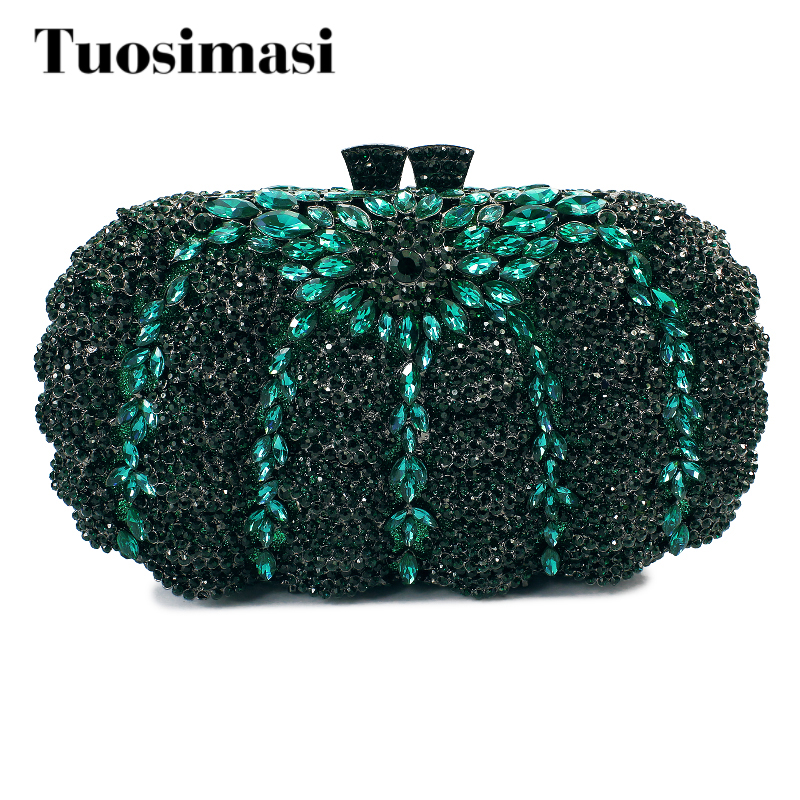 Luxury Women Bridal Floral Wedding Crystal Clutch Evening Bags day clutch bag women chain handbags(8792A-GS) luxury crystal clutch bags uk hot sale pillow shaped white pearl clutch handbags for cheap women crystal evening bag with chain