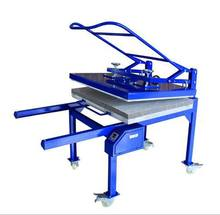 hand large heat press machine with worktable size 50x 100cm