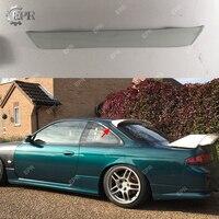 For Nissan Skyline R32 GTS GTR D Max FRP Glass Fiber Rear Roof Spoiler Tuning Part Tirm Racing For R32 GTR Fiberglass Wing Lip
