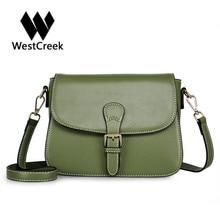 Westcreek Marke 2017 NEUE Leder Frauen Kleine Handtasche Mode Klappe Crossbody Umhängetaschen Luxus Handtaschenfrauen-designer