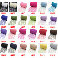 Tulle Roll 25yards 15cm Spool Lace Roll Craft Wedding Decoration Organza Gauze Element Table Runner Mariage