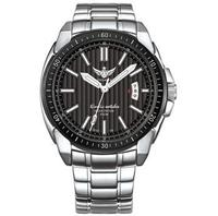 YELANG v1001 mens self luminous sapphire mirror,316L stainless steel strap kinetic movement business watches