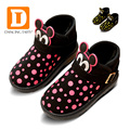 2017 New Cartoon Mouse Children Shoes Winter Plush Warm Snow Boots Boys Girls Child Casual Shoe Kids Shoes fashion Baby Sneakers