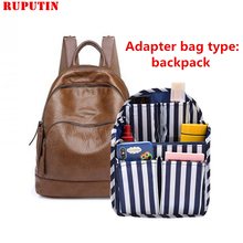 RUPUTIN Travel Organizer Insert Bag Multifunctional Women Cosmetic Bags Portable Sundries Sorting Toiletries