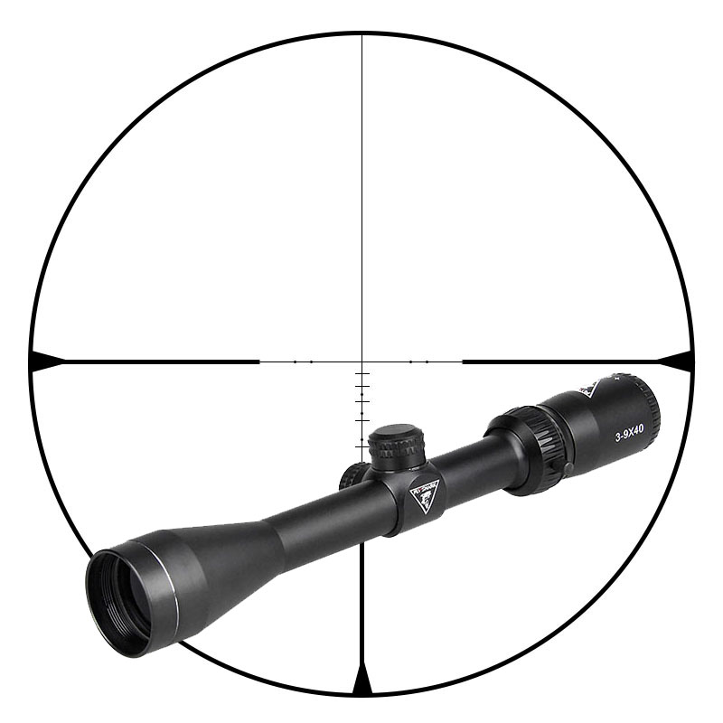 Hot Sale New Tactical 3-9x40 Rifle Scope For Outdoor Sport Hunting OS1-0333 new tactical 4 5 14 5x50 rifle scope spotting scope for hunting shooting os1 0250