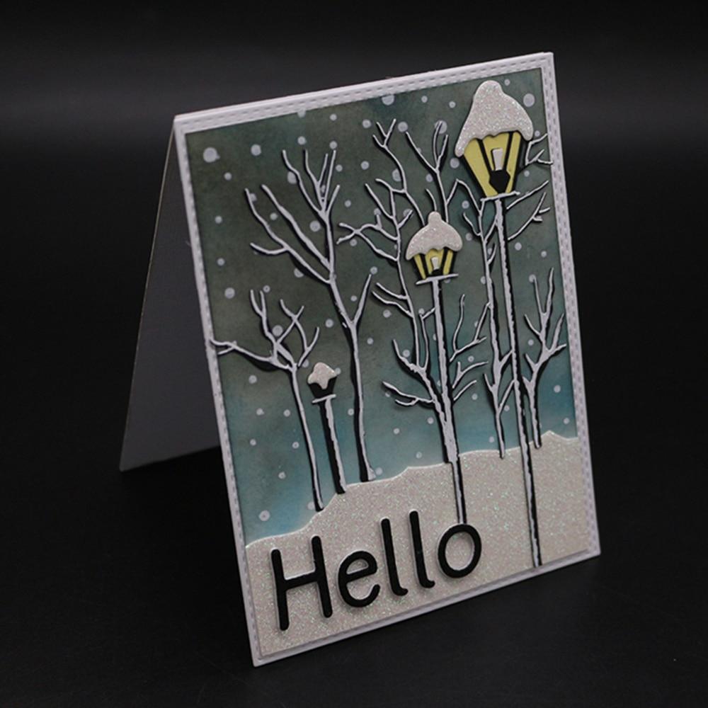 Tree Branch Metal DIY Cut Dies Stencil Scrapbook Paper Card Embossing Crafts BS