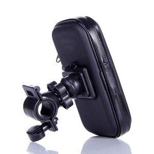 Image 5 - Wodoodporna rowerów telefon uchwyt na stojak na telefon wsparcie dla iPhone 4 5 6 Plus rower GPS uchwyt na telefon torba Moto Suporte para Celular