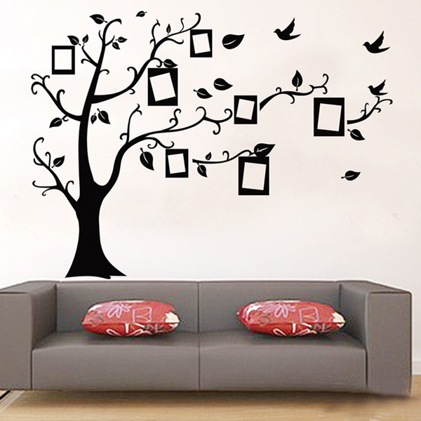 Aliexpress.com : Buy 1 Set 35*48 Inch Removable PVC Decals Black Family