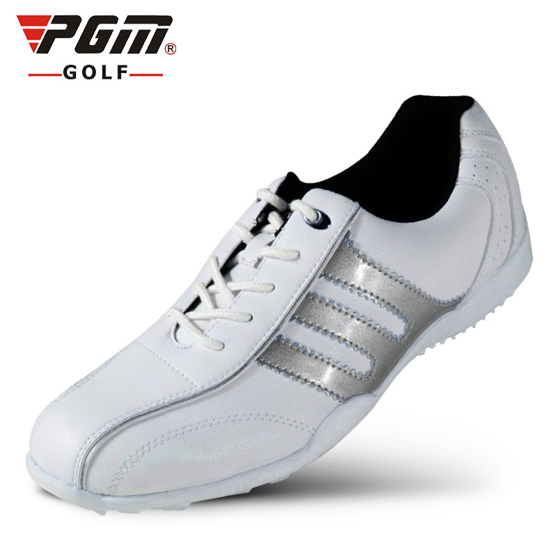 PGM Men Golf Shoes Genuine Leather Sport Shoes Men Sneakers Waterproof Golf Shoes For Men 6 Colors Zapatos Charol Hombre Golf pgm men golf shoes genuine leather breathable ultra light brown waterproof sneakers sport golf shoes mens zapatos charol hombre