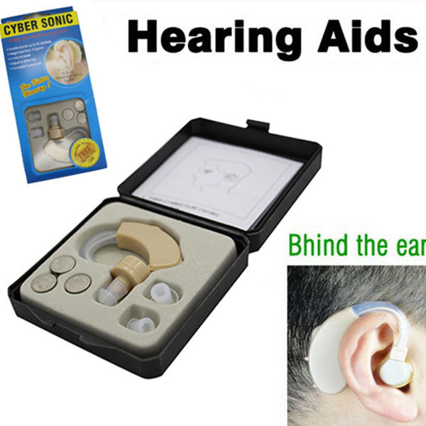 Health And Beauty Aids: 2018 Newly Digital Hearing Aid Mini Behind Ear High Low