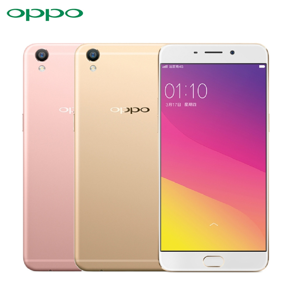 "Original OPPO R9 Cell Phone MT6755 Octa Core RAM 4GB ROM 64GB 5.5"" Screen 13.0mp Camera 2850mAh 4G LTE Fingerprint Smartphone"