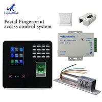 High Quality Facial Recognition Access Door Lock Biometric Security Devices Glass Door Door Access Kit Cheap Door Locks