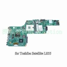 Sps v000275440 para toshiba satellite l855 l850 laptop motherboard dk10fg-6050a2509901-mb-a02 hd4000 + hd 7670 m garantía de 60 días