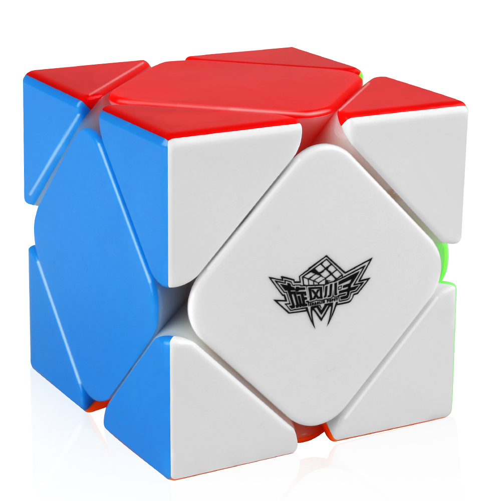 D-FantiX Cyclone Boys Magnetic Skew Cube Magic Cube Stickerless Puzzle Toy for Kids and AdultD-FantiX Cyclone Boys Magnetic Skew Cube Magic Cube Stickerless Puzzle Toy for Kids and Adult