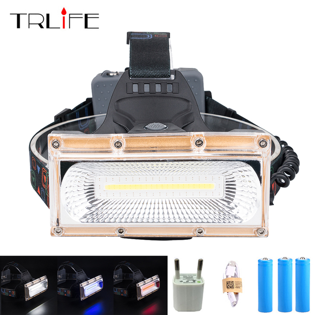 Rechargeable 50000LM 4 Modes LED Headlight Headlamp Head Lamp Light With Battery