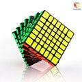 QiYi X-hombre diseño chispa 7x7 magnético cubo Stickerless/Negro Mofangge qiyi chispa 7*7 velocidad cubos de juguete WCA rompecabezas cubo mágico