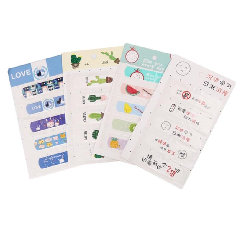 70mmx15mm 50 Pcs Cartoon Waterproof Breathable Bandage Band-Aid Hemostatic Adhesive For Kids Children