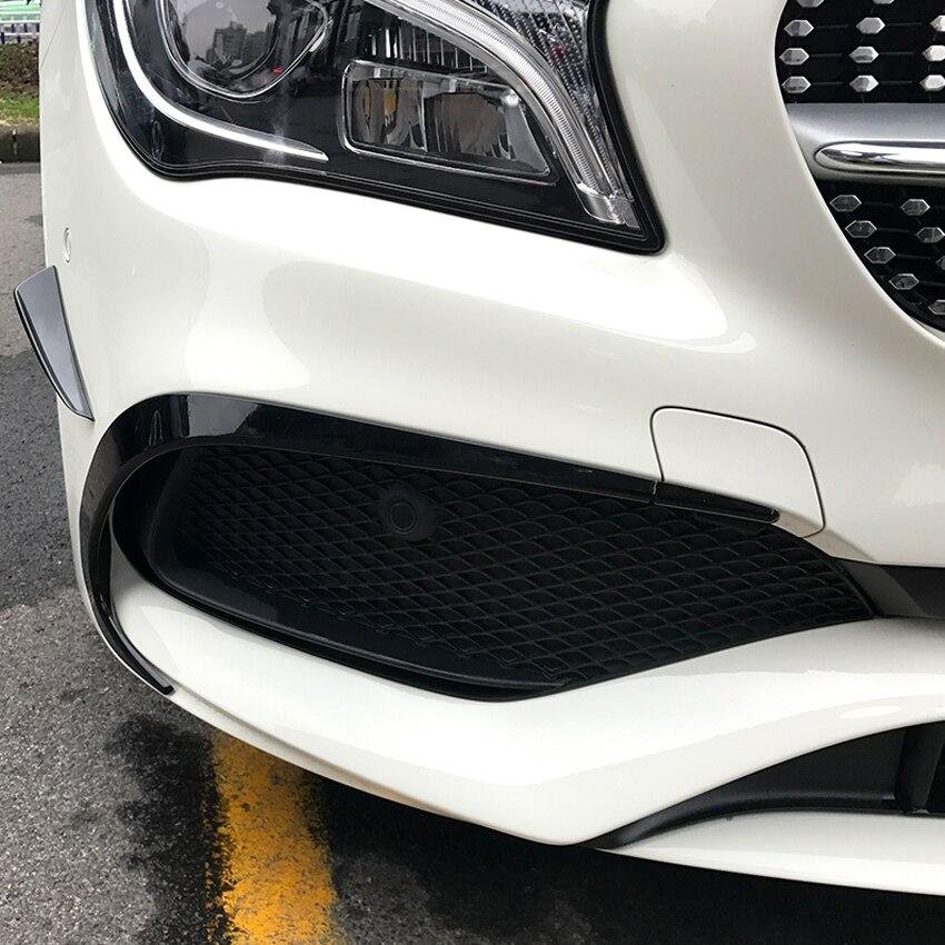 For Mercedes Benz CLA Class W117 C117 2016-2019 CLA200 220 250 260 Bumper Stickers Trim Cover Accessories Car Styling
