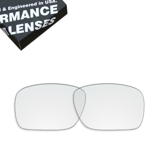 6a677a5dbc ToughAsNails Replacement Lenses for Oakley Holbrook Sunglasses Clear Color  (Lens Only)