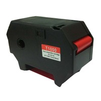 호환 Francotyp Postalia T1000 Optimail 레드 형광 카세트 (상자 당 3)