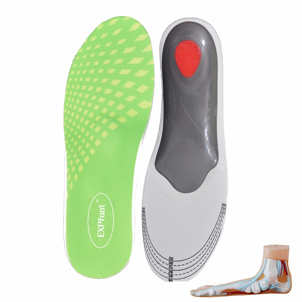 2 pairs/lot Premium Orthotic Gel High Arch Support Insoles Gel Heel Pad 3D Arch Support Plantar Fasciitis Supports for men women recette merveilleuse ultra eye contour gel by stendhal for women 0 5 oz gel