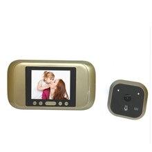"3.2"" Peephole Viewer camera 720P HD PIR Auto Door Camera Monitor Photo Video Recorder TFT Home Anti Flicker video Doorbell"