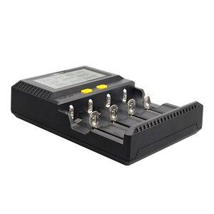 Image 4 - Miboxer C4 12 Pin Thông Minh 18650 26650 Sạc 4 Khe Cắm Màn Hình LCD 3.0A/Khe cắm tổng 12A cho Li Ion/ IMR/INR/ICR/Ni PK liitokala500
