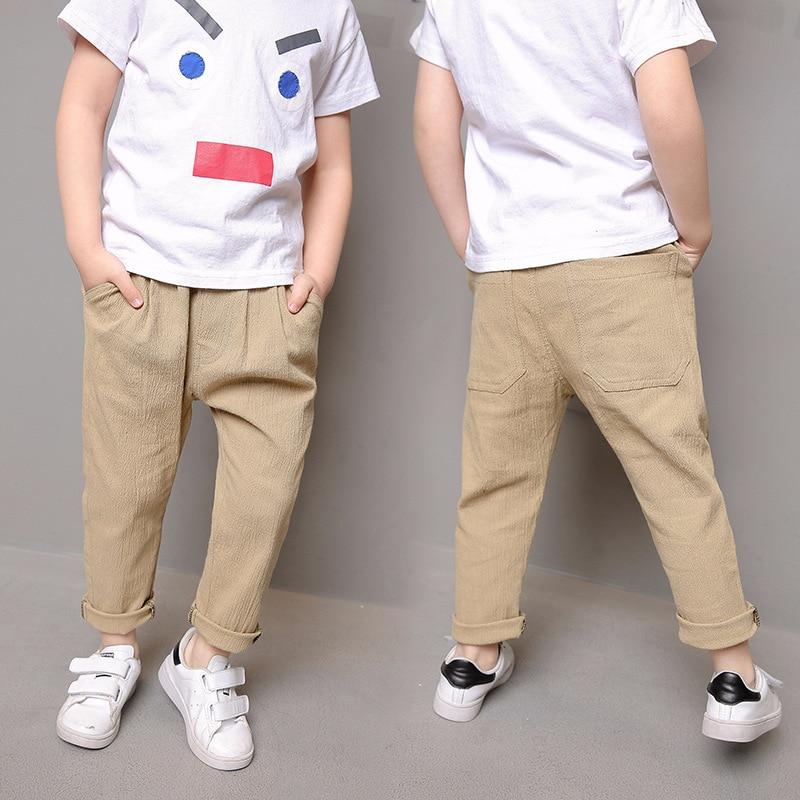 Trendmarkierung Feste Wenig Großen Jungen Sport Hosen Für Kinder Hosen Kleidung Schwarz Grau Mittlere Taille Elastischer Baumwolle Hosen Jungen Kinder Hosen Hosen