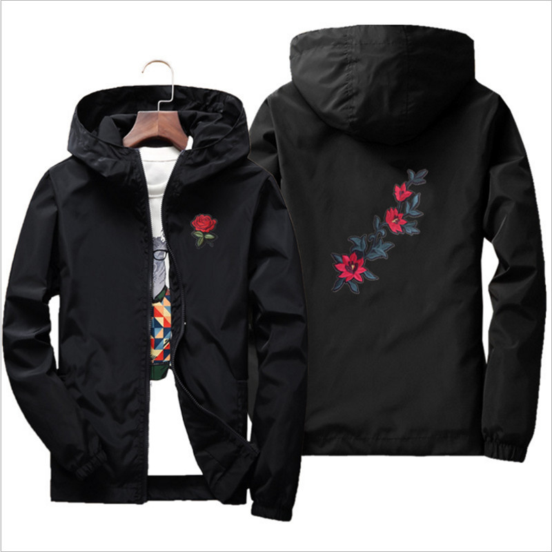 Family Look Clothing Jacket Fashion Casual Floral Jacket Outerwear Plus Size Coat For Spring & Autumn For Men Women Children plus size women cotton clothing 2017new irregular coats jacket thicker casaco feminino fashion top outerwear abrigos mujer 1044