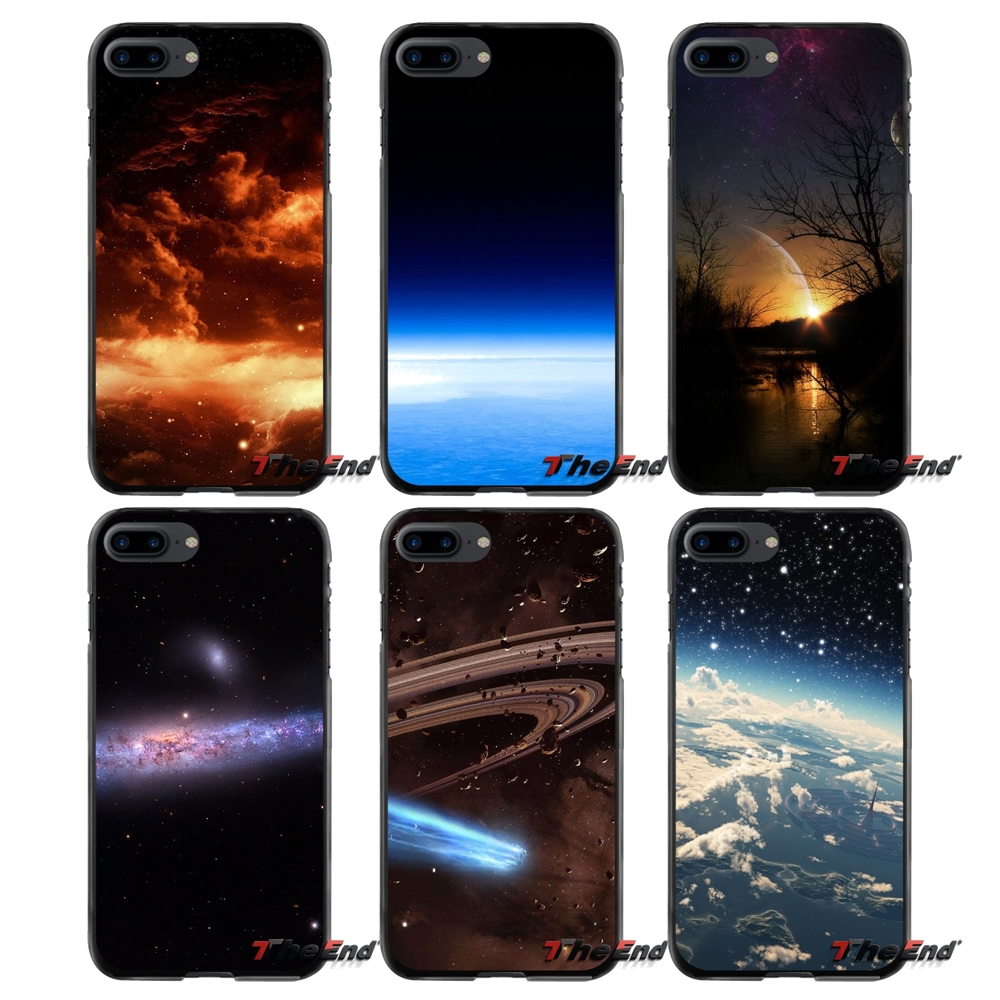 Accessories Phone Shell Covers For Apple iPhone 4 4S 5 5S 5C SE 6 6S 7 8 Plus X iPod Touch 4 5 6 Amazing Space