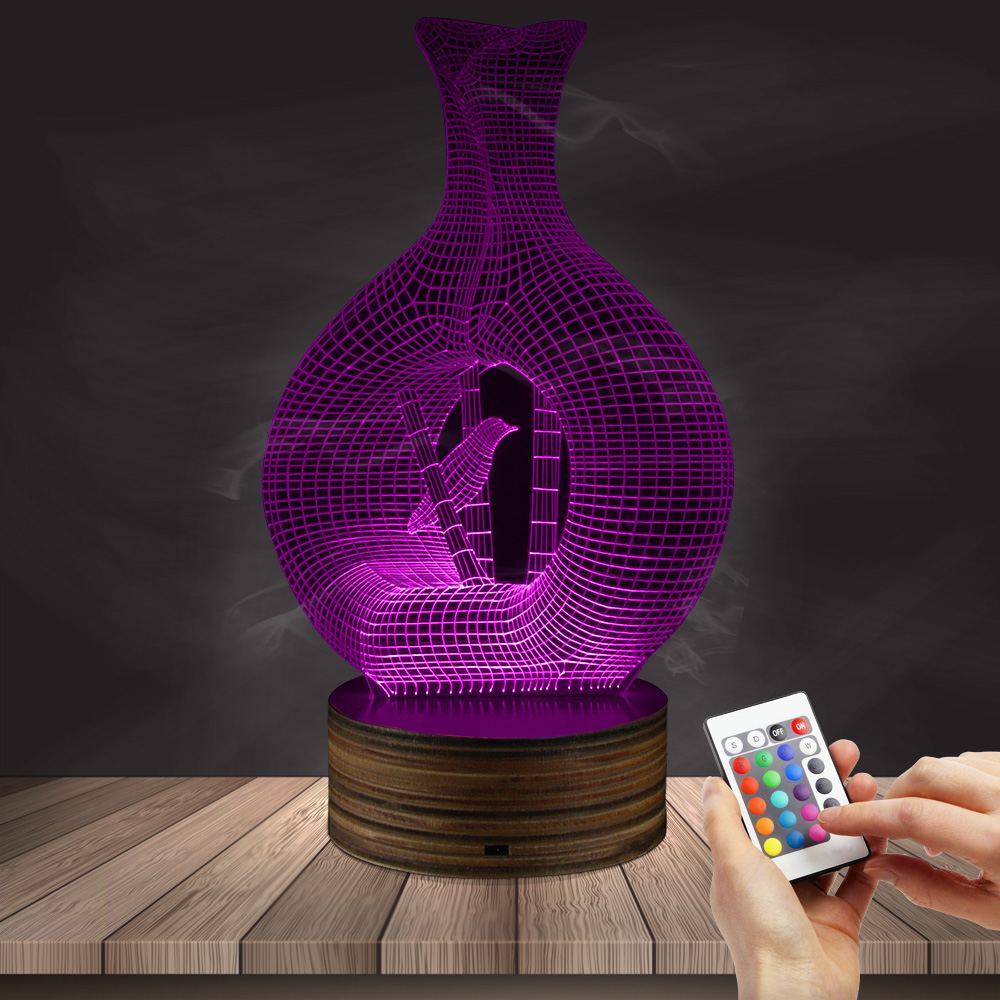 1Piece Bird Cage Vase Acrylic Light Fashion Home Decorative 3D Table on