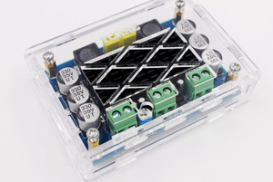 Image 1 - DC 12V 24V 100W TPA3116 DA Mono Canale digitale amplificatore di Potenza audio di bordo con scocca in Acrilico