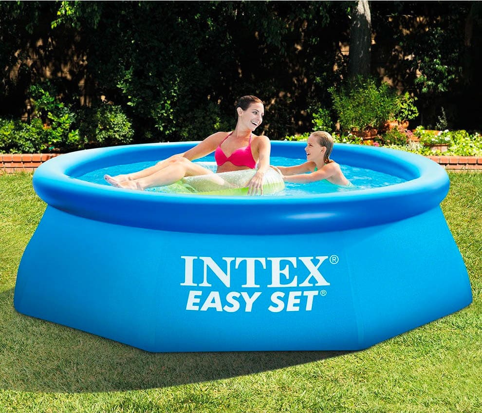 8FTx30IN profonde facile Set piscine gonflable hors sol piscine 28110 - 5