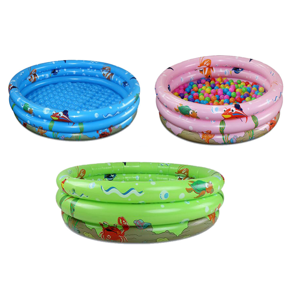 New 1pc Infant Inflatable  Swimming Pool Ocean Ball Pool Thickening Children Bathtub Carton Packing drop shipping