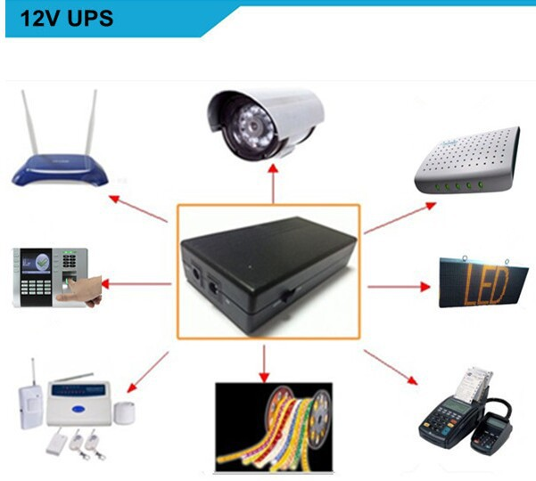 hot sales backup power lithium mini ups battery dc ups wifi route 12v 2a ups on aliexpress. Black Bedroom Furniture Sets. Home Design Ideas