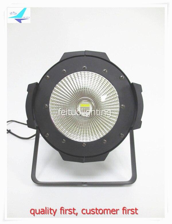 4pcs/lot Power 200w LED COB Par Light Quad Color RGBW 4IN1 Stage DJ Disco Lighting DMX Strobe Spot 200w COB Par Can Lights Par64