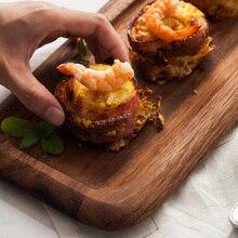 Marke hohe qualität 12 zoll rechteck holz brot schneidebrett blöcke Japan stil frühstück obst holztablett küche schneidebretter
