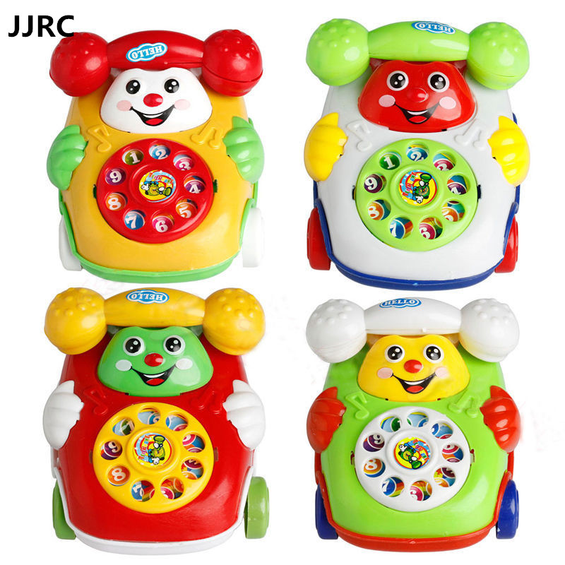 JJRC Baby Toys Music Cartoon Phone Educational Developmental Kids Toy Gift