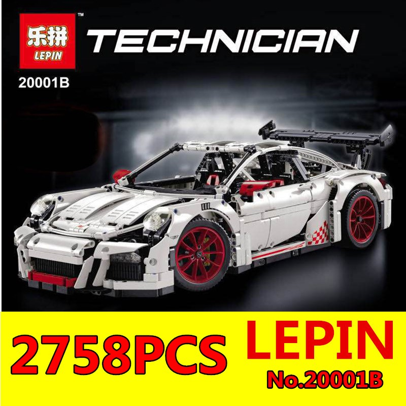 Technic Series Classic 911 GT3 R3 Race Car Blocks LEPIN 20001B 2758Pcs New 42056 Educational Building Bricks Blocks Boys Gifts