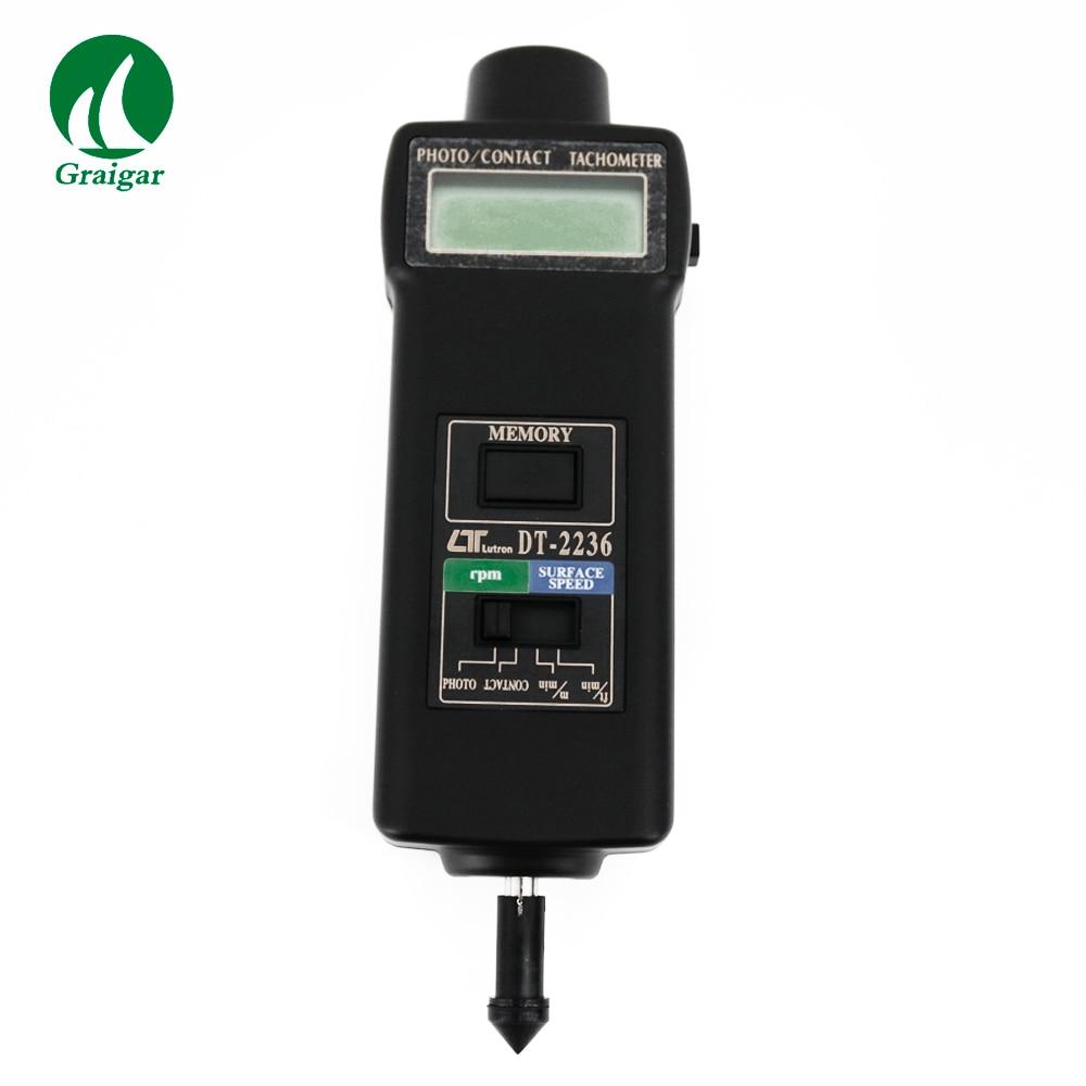 Multifunctional Tachometer Digital Revolution Meter DT-2236 Wide measuring range and high resolutionMultifunctional Tachometer Digital Revolution Meter DT-2236 Wide measuring range and high resolution
