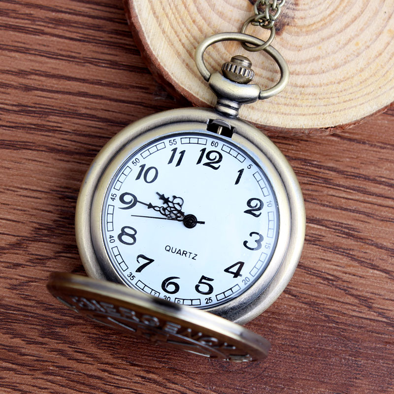 57bb8651c59 Novo Símbolo de Técnico De Emergência Médica Médico Relógio de Bolso A  Estrela da Vida Bronze Quartzo Relógio de Bolso Colar Corrente do Relógio  em Relógios ...