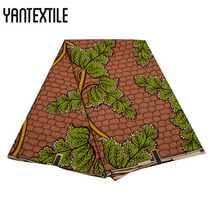 YANTEXTILE New Arrival Ankara Fabric African Real Wax Print 100% Polyester Quality For Wedding Dress Wear Sexy