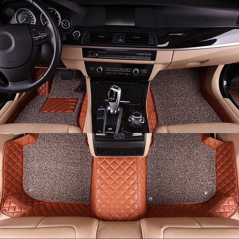 Car Floor Mat Carpet Rug Ground Mats For Vw Atlas Bora C Trek Phideon Phaeton Eos Scirocco Variant Touareg Touran